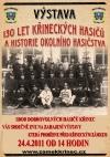 Výstava 130 let Křineckých Hasičů