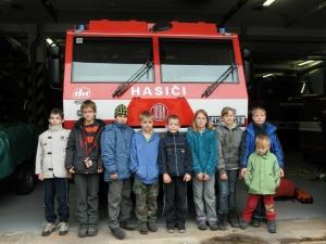 Mladí hasiči na výletě